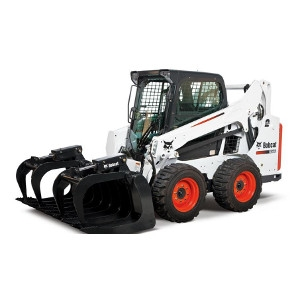 Bobcat Enclosed Cab Skid-Steer Loader