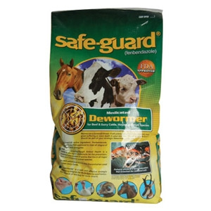 Safe-Guard® 0.5% Alfalfa-based Pellets Dewormer