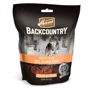 Merrick Backcountry Pacific Catch Real Salmon Jerky