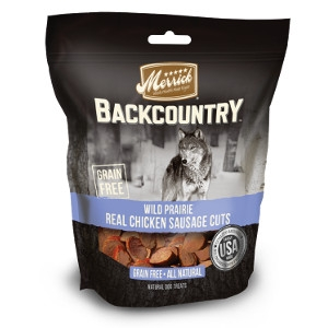 Merrick Backcountry Wild Prairie Real Chicken Sausage Cuts