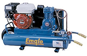 Emglo Gas Wheelbarrow Air Compressor