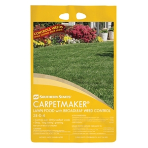 Southern States Carpetmaker Lawn Food with Broadleaf Weed Control 28-0-4 48 Pound