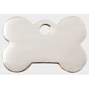 Stainless Steel Pet Tag - Bone