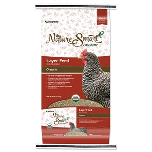 Nature Smart® Layer 16%  Organic Crumble Feed