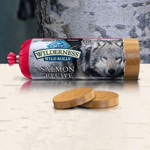 BLUE Wilderness® Wild Rolls™ Salmon Recipe for Dogs