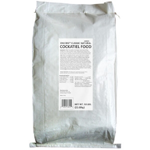 Encore Classic Natural Cockatiel Food - 50 lb.