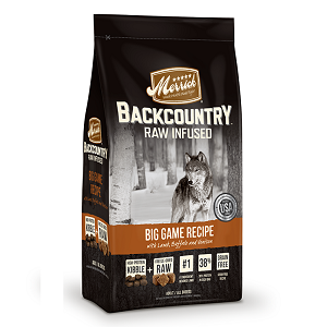 Backcountry Dry Dog Food - Raw Infused - Big Game Recipe