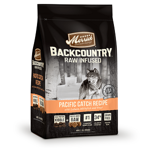Backcountry Dry Dog Food Backcountry - Raw Infused - Pacific Catch Recipe