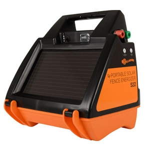 Gallagher® S22 Portable Solar Fence Charger