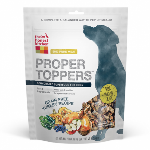 Honest Kitchen Proper Topper Grain Free Turkey Superfood