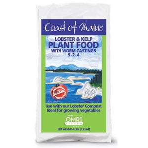 Coast of Maine Lobster and Kelp Plant Food 4 Pound