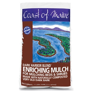 Coast of Maine Dark Harbor Blend Enriching Mulch 2 Cubic Foot
