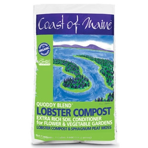 Coast of Maine Quoddy Blend Lobster Compost 1 Cubic Foot