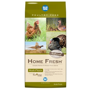 Blue Seal® Home Fresh® Multi-Flock Chick N Game Starter/Grower Pellets