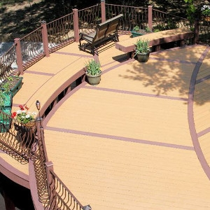 MoistureShield ModernView Composite Decking