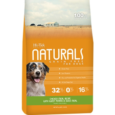 Hi-Tek Naturals Grain Free Chicken & Sweet Potato Dry Dog Food