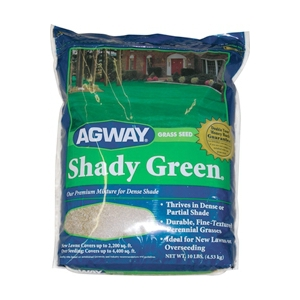 Agway Shady Green Grass Seed 10 Pound