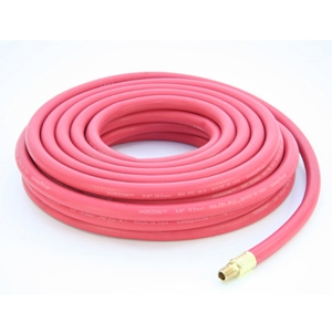 "Industrial Air/Water Hose 3/8"" ID x 50 Ft"