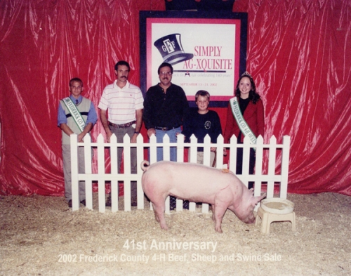 2002 Frederick County 4-H Beef, Sheep, and Swine Sale