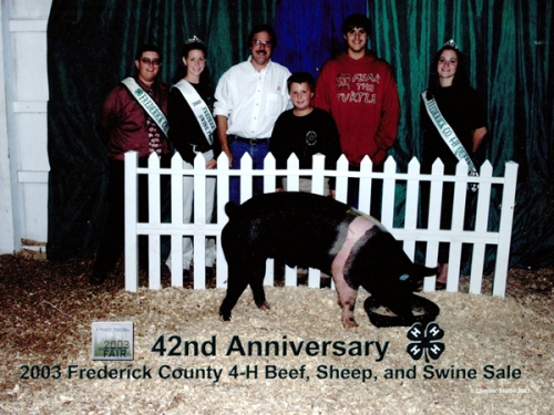 2003 Frederick County 4-H Beef, Sheep, and Swine Sale