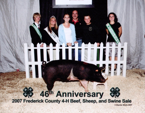 2007 Frederick County 4-H Beef, Sheep, and Swine Sale