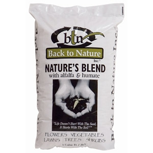 Nature's Blend Compost by Back to Nature