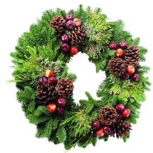 Colonial Mixed Premium Wreath 20