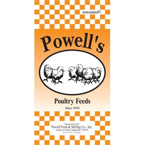 Powell's Poultry Starter Non-Medicated