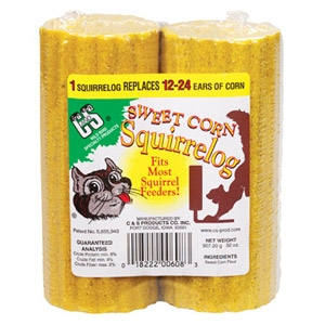 C & S Sweet Corn Squirrel Log