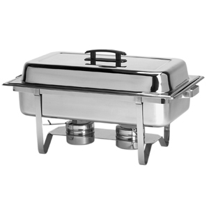 8 Qt. Stainless Steel Chafer