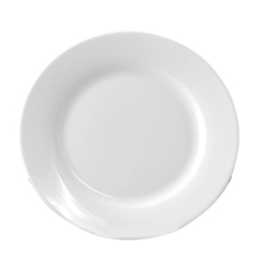 "Progressive Pro. 6 1/2"" Wide Rim, White  Bread & Butter Plate"