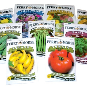 Ferry-Morse® Flower, Herb & Vegetable Seeds