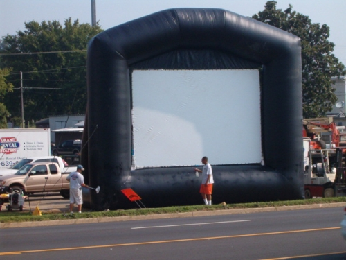 Movie Screen Inflatable