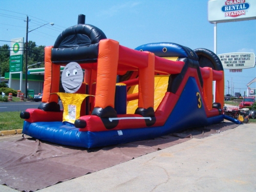 Train Obstacle Course Inflatable