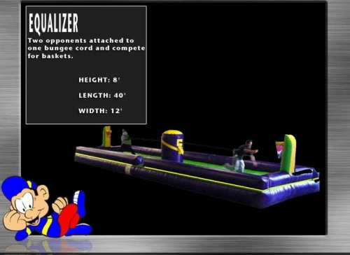 Basketball Equalizer Inflatable