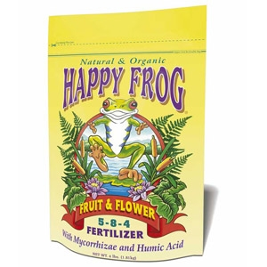 Happy Frog® Fruit & Flower Organic Fertilizer (5-8-4)