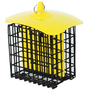 Audubon Metal Multi-Colored Double Suet Basket Holder