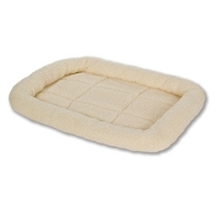 Pet Lodge Fleece Pet Bed in Cream