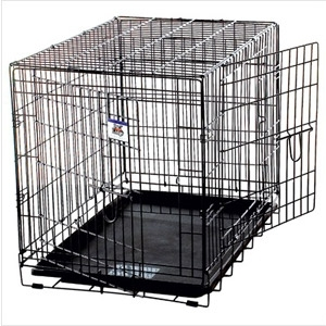 Pet Lodge Double Door Dog Crate