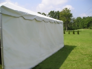 Tent Sidewalls - White Solid