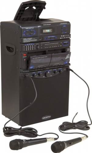 Karaoke Machine with 2 Wireless Mikes