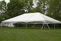 20X30 White Frame Canopy Tent