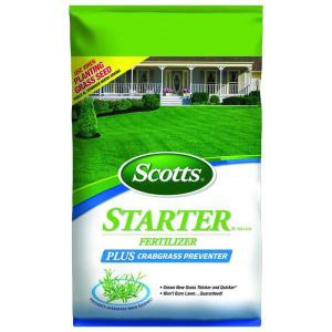 Scotts® Starter® Fertilizer Plus Crabgrass Preventer