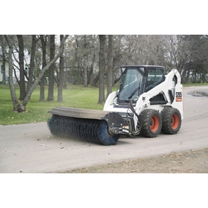 Bobcat Angle Broom Attachment
