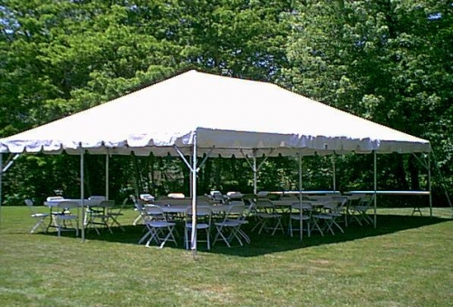 Tent Party Package - seating for up to 60