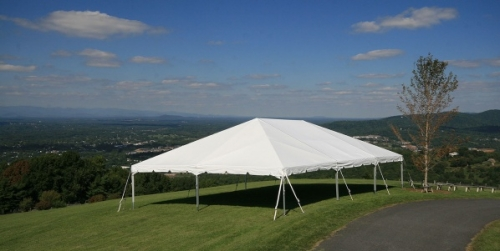 40u0027 Wide Navi-Trac Frame Tent & 40u0027 Wide Navi-Trac Frame Tent | Taylor Rental of Burlington NJ