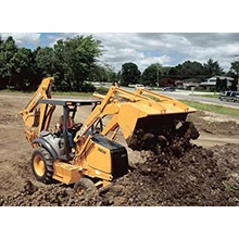 Case Backhoe, Full Size