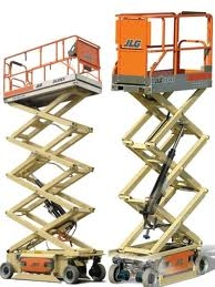 20' Electric Scissor Lift