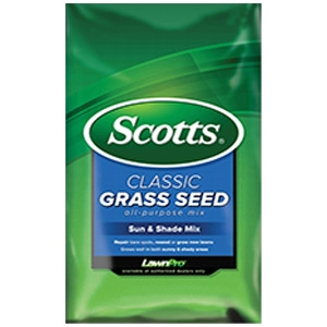 Scotts Classic Sun & Shade Mix Grass Seed 3 lbs.