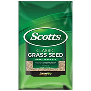 Scotts Classic Dense Shade Mix Grass Seed 3lbs.